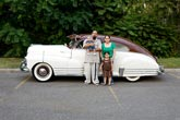 Corine Vermeulen, Villasenor family and their '82 Cadillac Coupe De Ville, 2008, from the series Your Town Tomorrow, Detroit (2007- 2012)