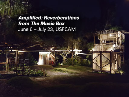 Amplified:Reverberations from The Music BoxJune 6 – July 23, 2016, USFCAM